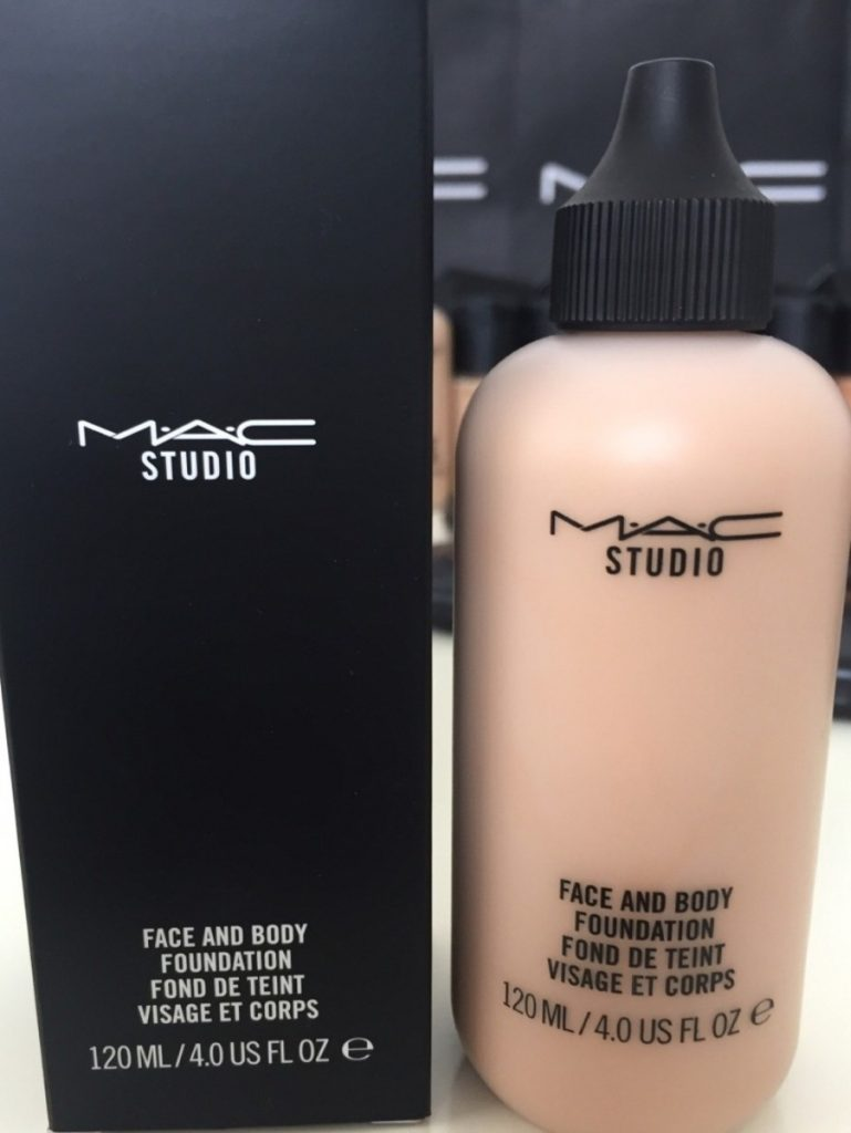 face y body base mac