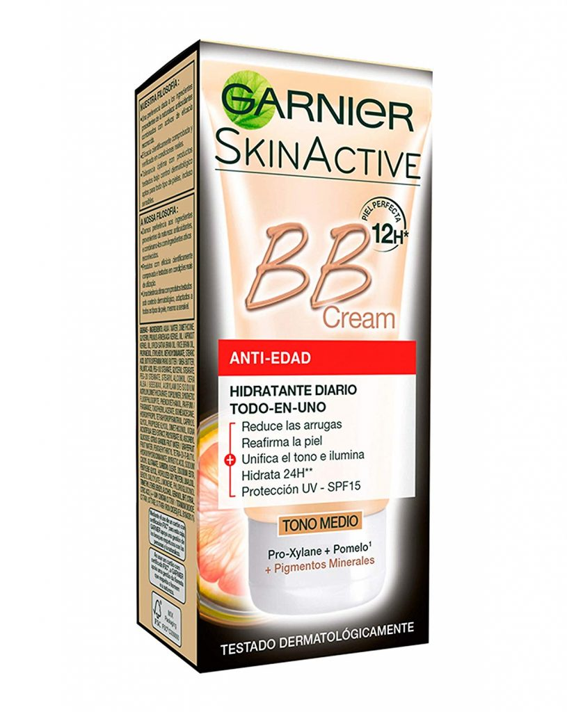 productos garnier anti edad bb cream