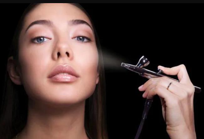 desventajas maquillaje aerografo