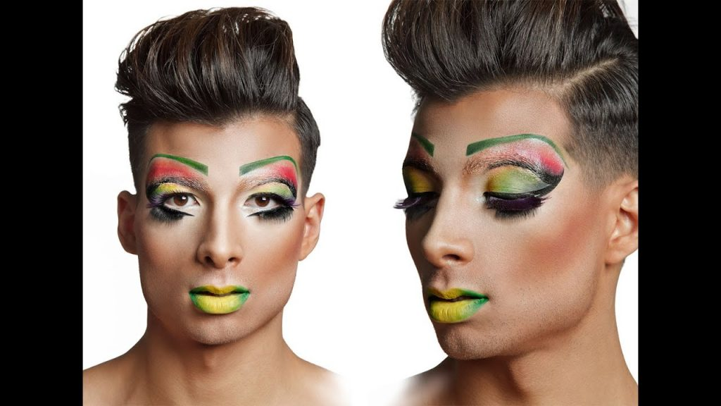 maquillaje drag queen hombres