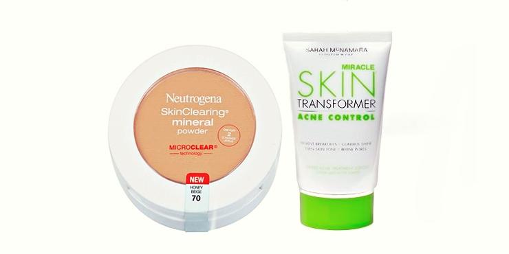 maquillaje no cosmedogénico