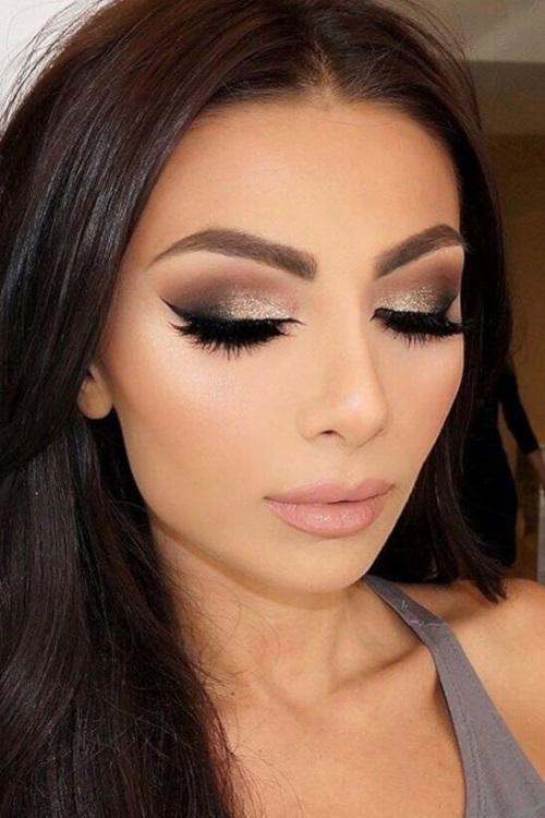 maquillaje para piel morena clara