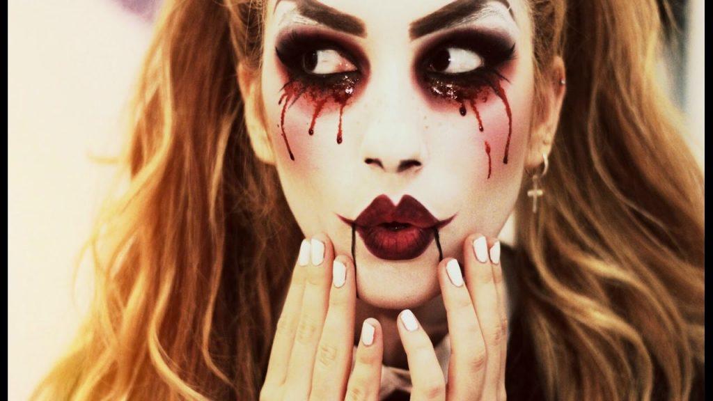muñeca halloween look