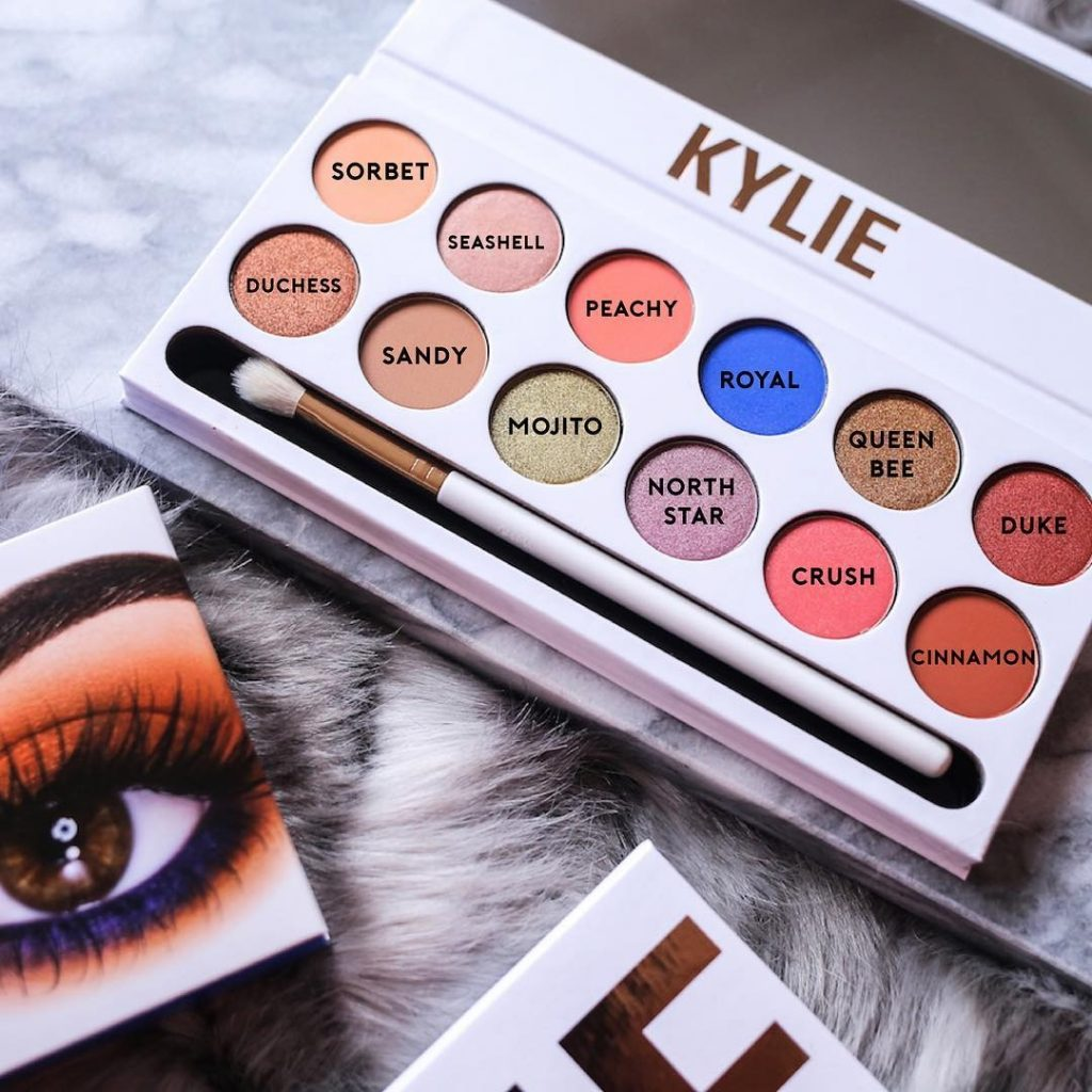 sombras royal peach kylie