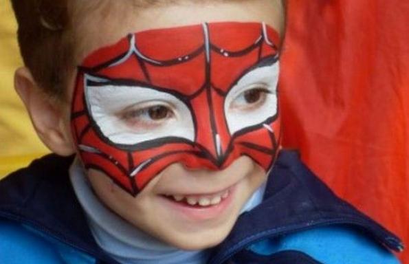 antifaz spiderman
