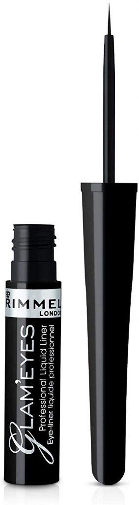 delineador black glamour rimmel