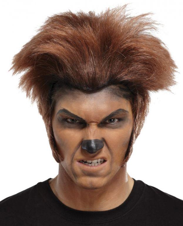 maquillaje lobo feroz