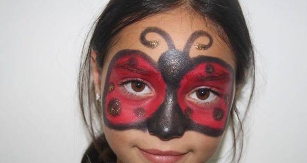 maquillaje mariquita niña