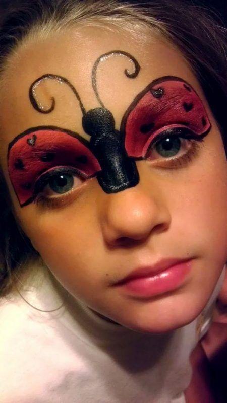 maquillaje mariquita superior