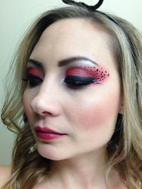 maquillaje mariquita