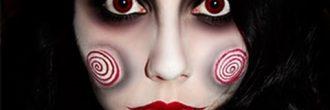 Maquillaje muñeca diabólica