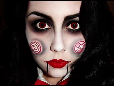 maquillaje muñeca diabolica para mujer