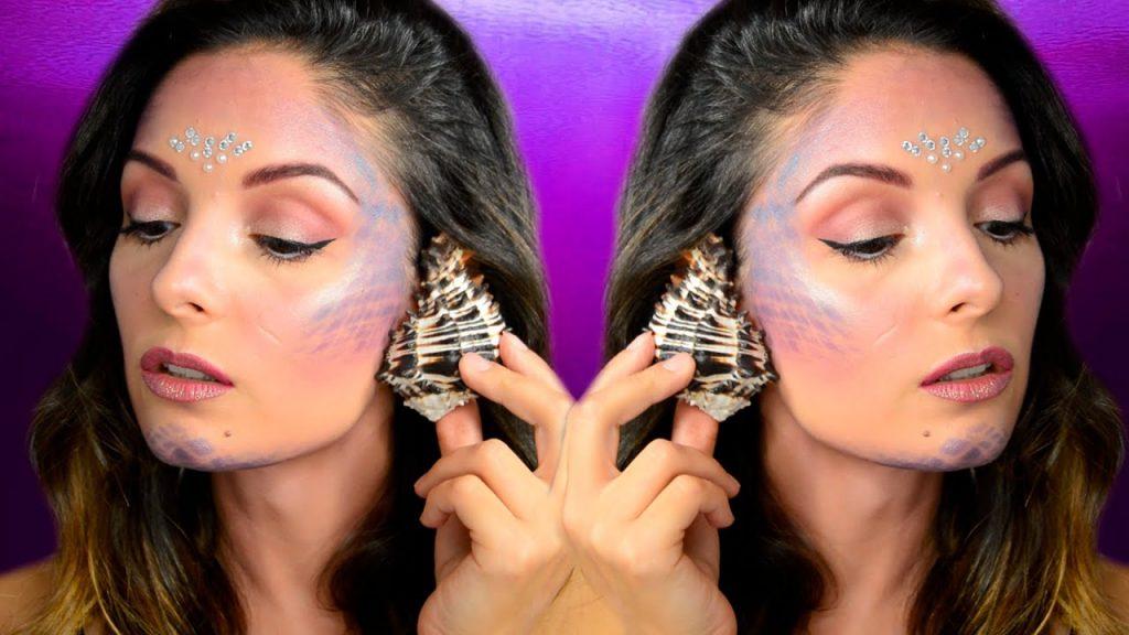 maquillaje sirena facil
