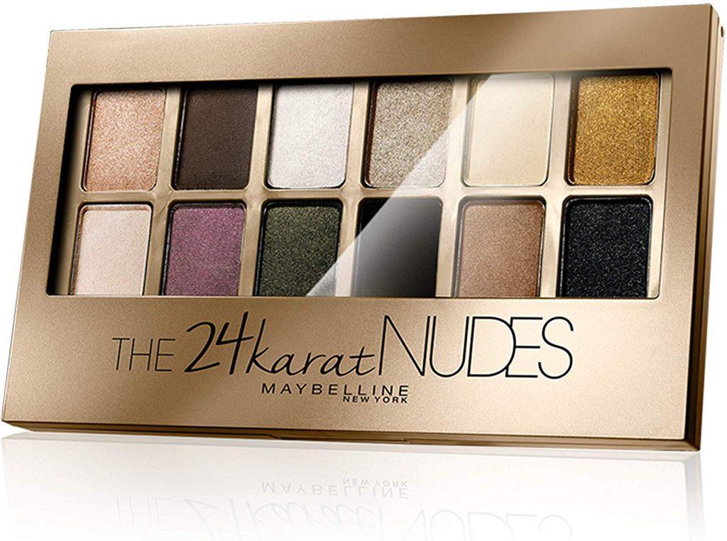 paleta sombras the 24 karat nudes